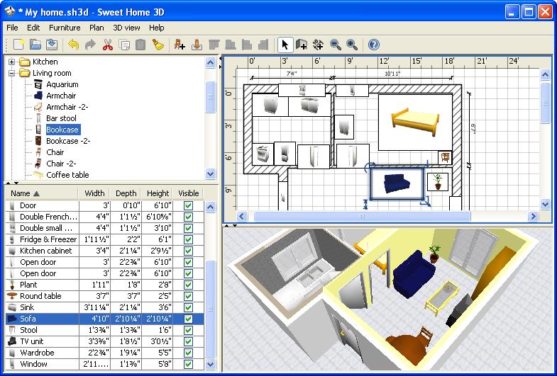 Los 3 mejores programas para hacer planos en 3d realistas for Aplicaciones para disenar casas