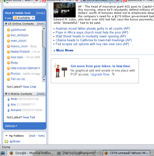 YahooMail Classic Screen Shoot 2
