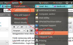 Login Screen Launch